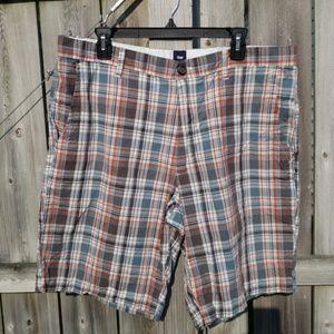 Plaid Gap Shorts